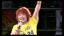 {YMZ} (24 Hour Wrestling) (Kaori Yoneyama exercise and warm-up for the wrestlers and fans) (7/26/15)