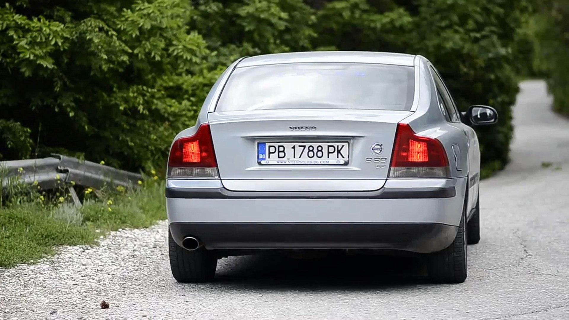 Volvo S60 D5 downpipe brutal sound