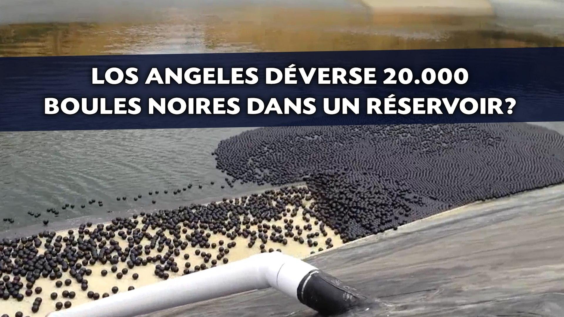 Pourquoi Los Angeles déverse 20.000 boules noires dans un réservoir?