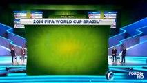México en Grupo A de Brasil Sorteo FIFA Mundial Brasil 2014 México Vs Camerún 13 Junio 2014