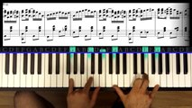 "How To Play ""The Entertainer - Part 5"" Piano Tutorial / Sheet Music (Scott Joplin)"