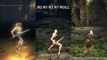 Longsword Animation Comparison (Demon's Souls vs Dark Souls 1 vs Dark Souls 2)