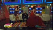 Cecilia Galeano ensena calzones Zabadazo. 06.10.2012