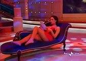 caterina balivo in abitino sexy a cosce aperte - YouTube