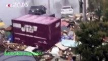 ✮ 2011.03 TSUNAMI FILMED AT STREET LEVEL 日本地震津波 ✮