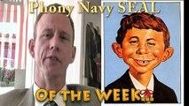 "Phony Navy SEAL PEDOPHILE. Bill Brockbrader ""The VIRUS."" Marine Corps Army Air Force Navy Fakes"