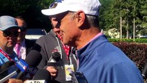 MLB Commissioner Robert Manfred Cooperstown Golf Outing Interview (Hall of Fame Weekend - 7/25/15)