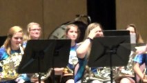 16 Horns!  Raiders of the Lost Ark / Star Wars Medley, UW-Whitewater High School Band Camp 2015