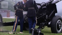 21-Gun Salute on Memorial Day 2013 - Presidential Salute Battery