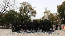 Okayama Wake Junior High School Choir at Hiroshima Memorial Park