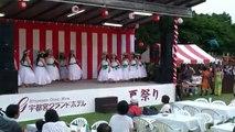 Nikko Green Rose Hula Plays Hawaiian Dance 'Nada Sousou'(Ka Nohona Pilikai)