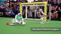 Pakistani Robots to play in the robotics soccer world cup in China.