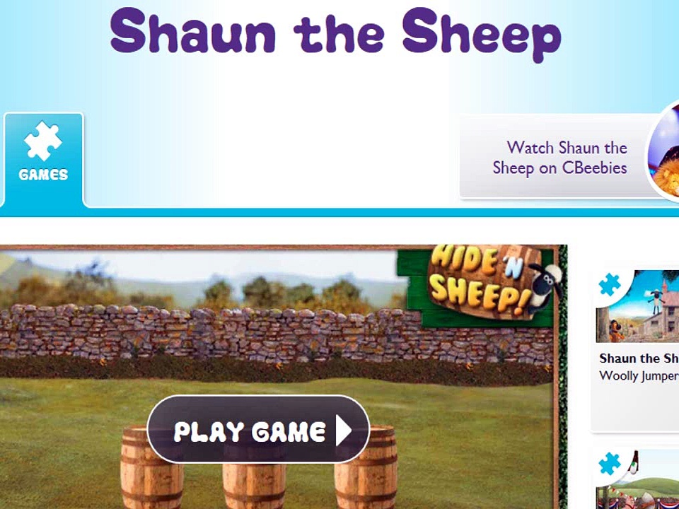 CBeebies Shaun the Sheep Hide'n Sheep