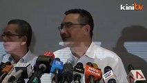 Hisham zips lip on why RM100mil spent on rail link