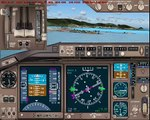 [FS2004] MD-11 FedEx landing at TNCM
