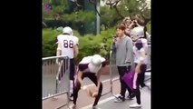 150605 EXO on the way to Music Bank