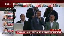Recep Tayyip Erdoğan seçim zaferini halkla kutladı