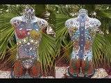 The future Warrior Man Mosaic Torso