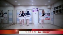 Dal★shabet 달샤벳 - Be Ambitious 내 다리를 봐 (Dance Practice) [Kpop 60fps]