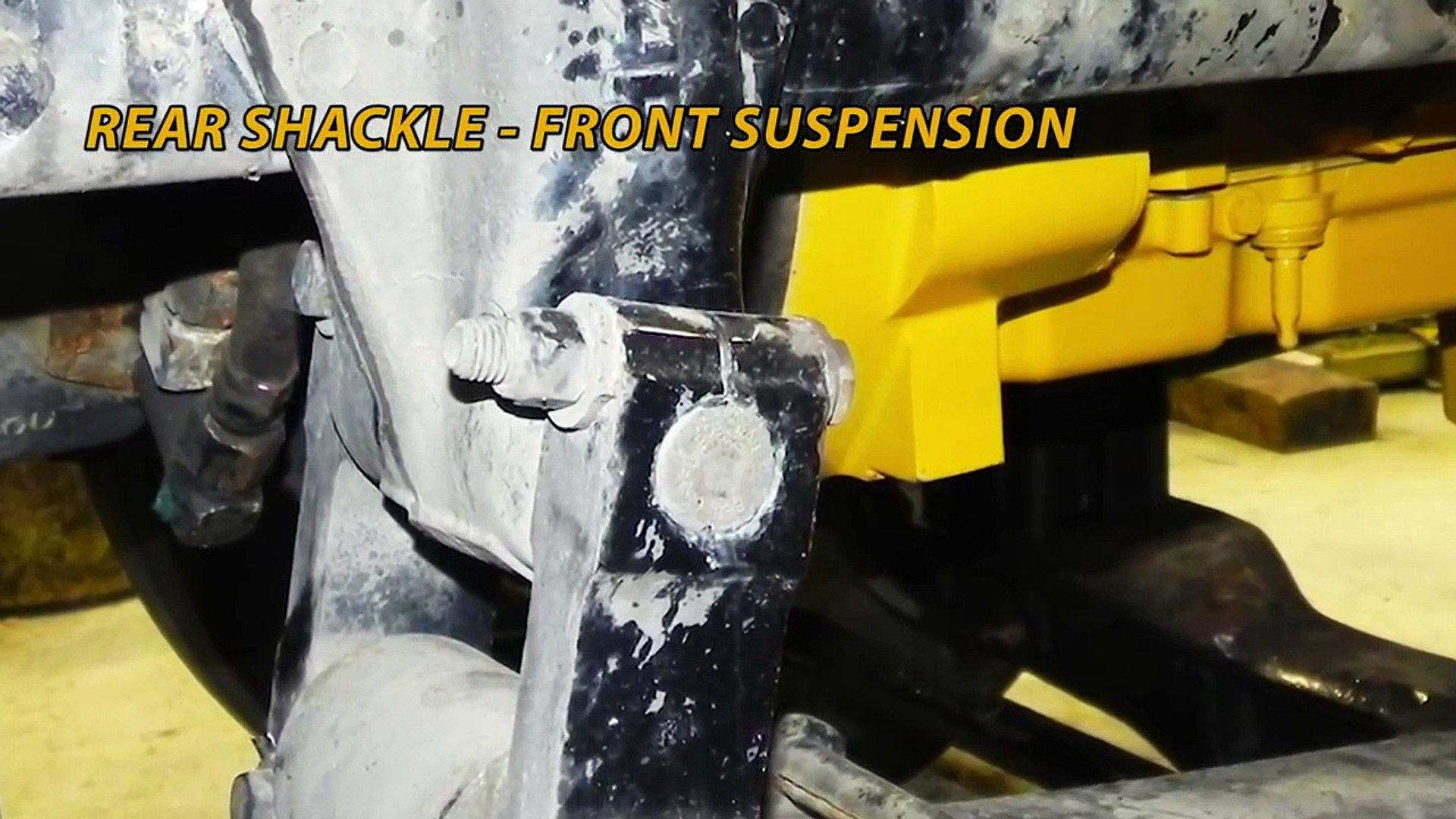 ACDelco 45G13017 Professional Rear Leaf Spring Bushing Shackle
