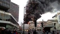 Incendie H&M Rue Neuve Bruxelles - 07.08.2012 (1/2)