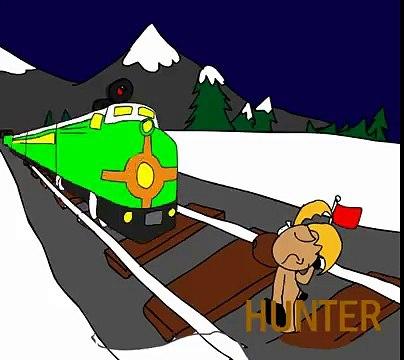 Hunter the deer intro feat. Hunter, Dominic, Sally, Rachel