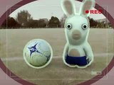 Rayman Raving Rabbids -  #1 Bunnies can't play football