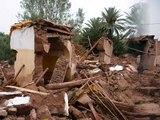 Inondations Bniouzieme, Boudenib, Errachidia, Fnidek, tanger, Nador, Maroc