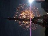 Feux d'Artifice, la Tour Eiffel (Eiffel Tower Fireworks)- 14 Juillet 2009