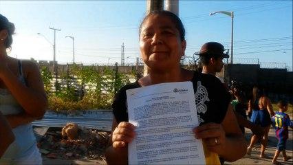 Primeira moradora a ser retirada do Alto da Paz diz que nada foi feito e cobra honestidade do prefeito RC