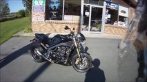 Triumph Speed Triple 1050 Ride along at top speed