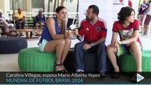 La familia Yepes, orgullosa de su capitán 'Tricolor'