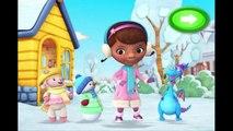 Disney Jr Doc McStuffins Snowman Roll Up Cartoon Animation Game Play Walkthrough