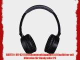 HAVIT? HV-H2111D zusammenklappbare DJ Kopfh?rer mit Mikrofon f?r Handy oder PC