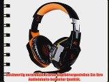 KingTop EACH G2000 Gaming Headset on-ear Stereo Professionelles Kopfh?rer Ohrh?rer Headphone