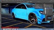 Mercedes Benz C63 AMG Virtual Tuning Photoshop