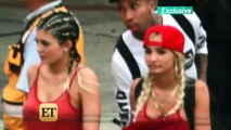 Kylie Jenner and Tyga Are Careful About PDA While Partying at Joe Francis' Mexico Mansion