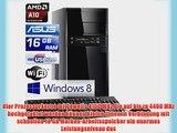 Sprint O46228 AMD A10-6800K APU Windows 8.1 - Gaming QuadCore! PC-System mit AMD A10-6800K