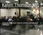 Kelvin Thomson MP: Essendon Airport second community meeting