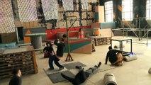 Tecnópolis: clases gratuitas de Parkour, el arte del desplazamiento