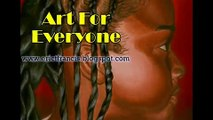 Acrylic painting demo: Ronnica's Eye