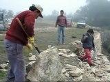 Curs de Restauració de la Pedra en Sec 2009 - 3er dia