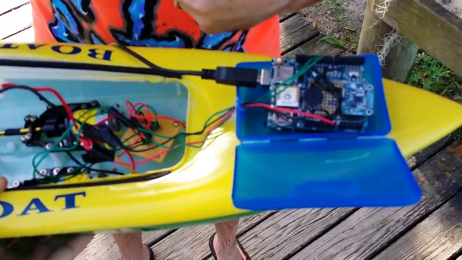 Arduino GPS guided boat