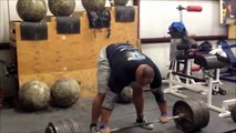 World's Strongest Man Brian Shaw Deadlifts 985 Pounds !