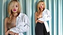 Rita Ora's BRALESS Photoshoot