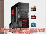 dercomputerladen Gamer PC System AMD FX-6350 6x39 GHz 16GB RAM 500GB HDD Radeon R9 280X -3GB