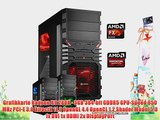 dercomputerladen Gamer PC System AMD FX-6300 6x35 GHz 8GB RAM 2000GB HDD Radeon R9 280X -3GB