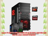 dercomputerladen Gamer PC System AMD FX-8350 8x40 GHz 16GB RAM 2000GB HDD Radeon R9 280X -3GB