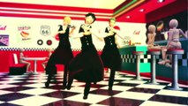 【One Piece MMD】Straw Hats Cafe 【Luffy, Sanji, Zoro】 Girls