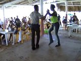 Bachata dancers in Boca Chica